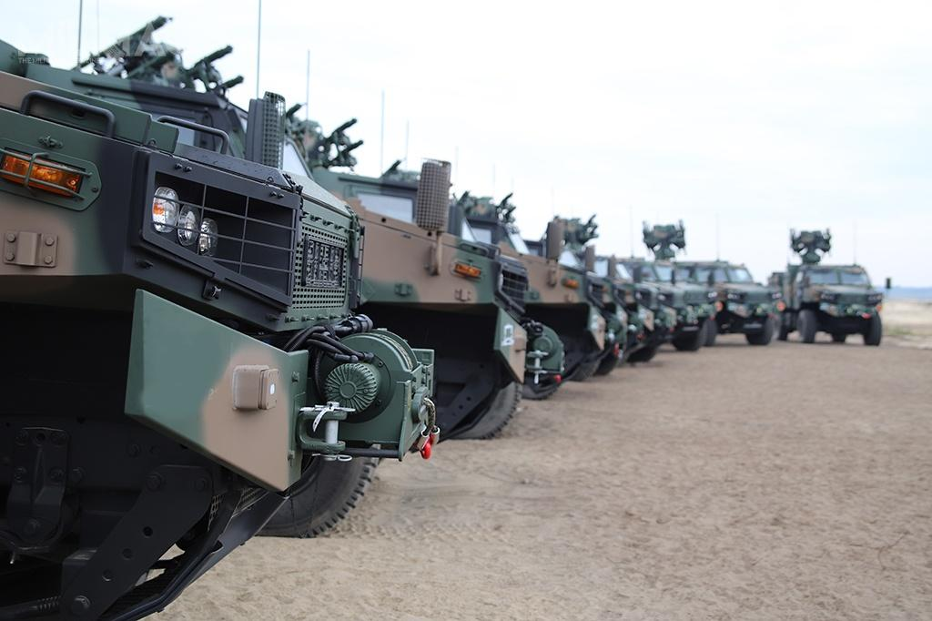 Posadowione napodwoziu AMZ-Kutno Żubr-P, SPZR Poprad trafiły nawyposażenie trzeciego już pododdziału artylerii przeciwlotniczej Wojska Polskiego / Zdjęcie: 21. Dywizjon Artylerii Przeciwlotniczej