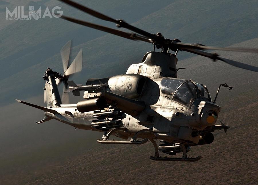 Rząd Bahrajnu wyraził zainteresowanie zakupem dla królewskich wojsk lotniczych dwunastu śmigłowców szturmowych Bell AH-1Z Viper. / Zdjęcie: Bell