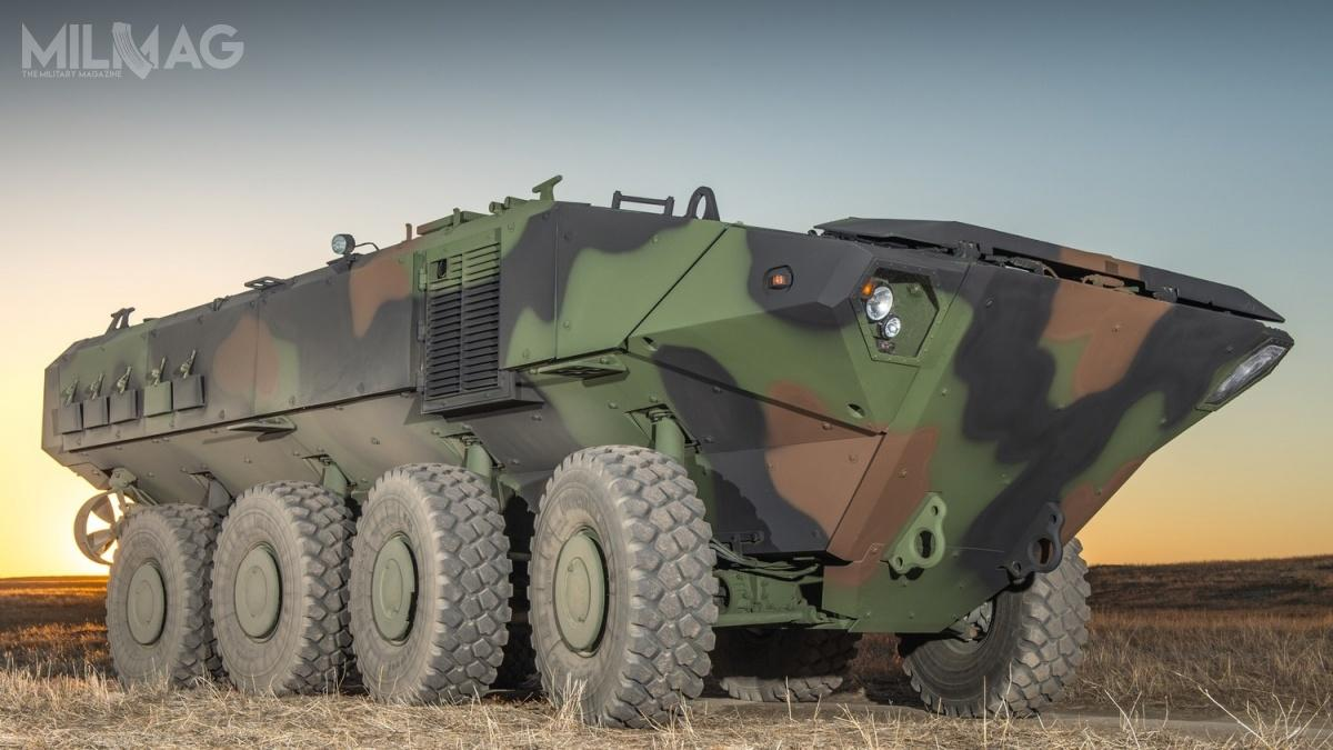 Konstrukcja BAE Systems wprogramie ACV wartym nawet 1,2 mld USD pokonała ostatecznie transportery pływające Terrex II, LAV 6.0 iHavoc