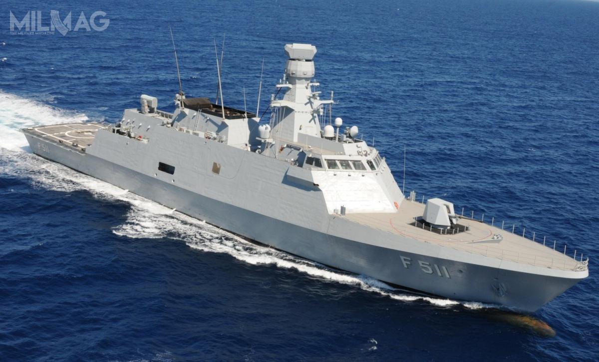 W tureckiej marynarce wojennej służą obecnie dwie korwety typu Ada: TCG Heybeliada (F-511) iTCG Büyükada (F-512), odpowiednio, od2011 i2013, adwie kolejne Burgazada iKinaliada oczekują nawejście dosłużby (w2018 i2019). /Zdjęcie: STM