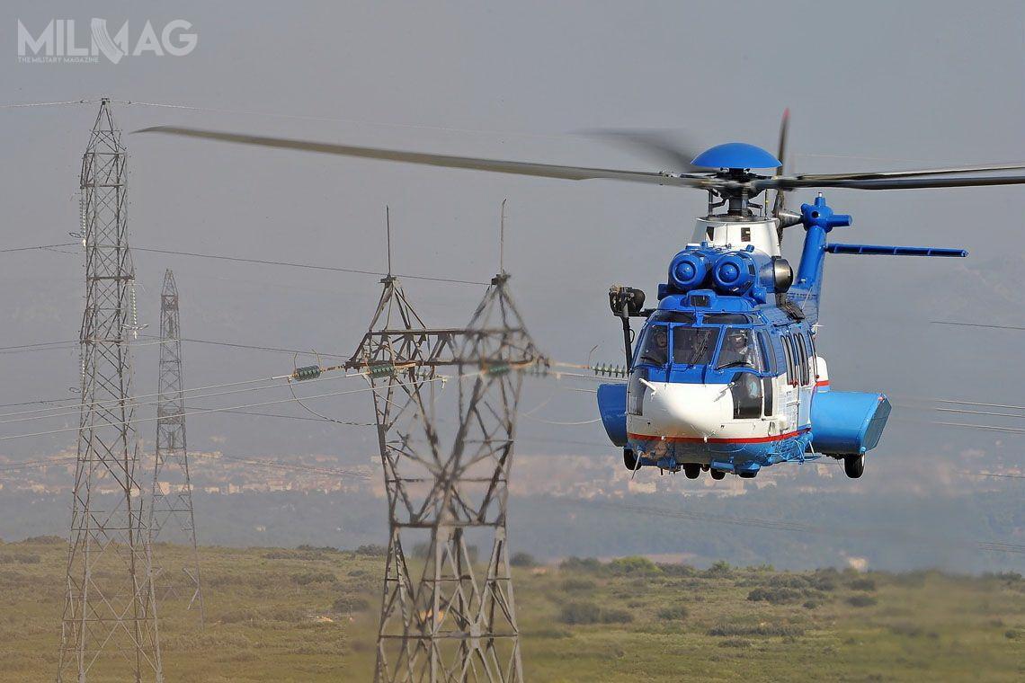 H225 Super Puma mają uzupełnić starzejącą się flotę ukraińskich Mi-8MT /Zdjęcia: Airbus Helicopters