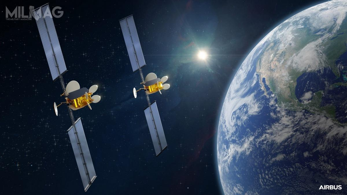 Airbus Defence and Space zbuduje dwa satelity OneSat dla spółki Intelsat, które posłużą doutworzenia programowalnej sieci komputerowej nowej generacji / Grafika: Airbus Defence and Space