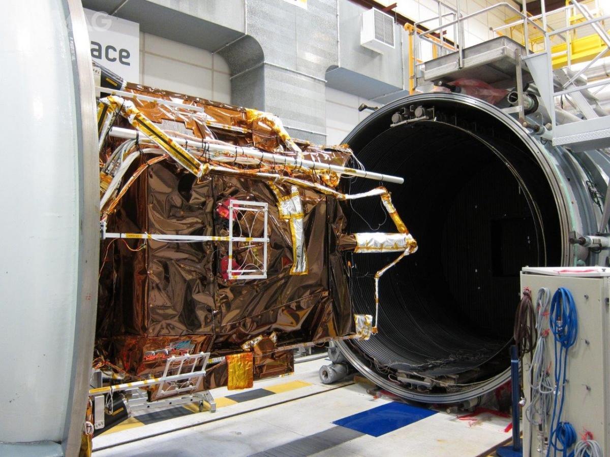 Pierwsze dwie satelity nowej generacji Pléiade Neo, zapewniające bardzo wysoką rozdzielczość zobrazowania, są szykowane dowyniesienia naorbitę zgodnie zplanem wpołowie 2020 / Zdjęcie: Airbus Defence and Space