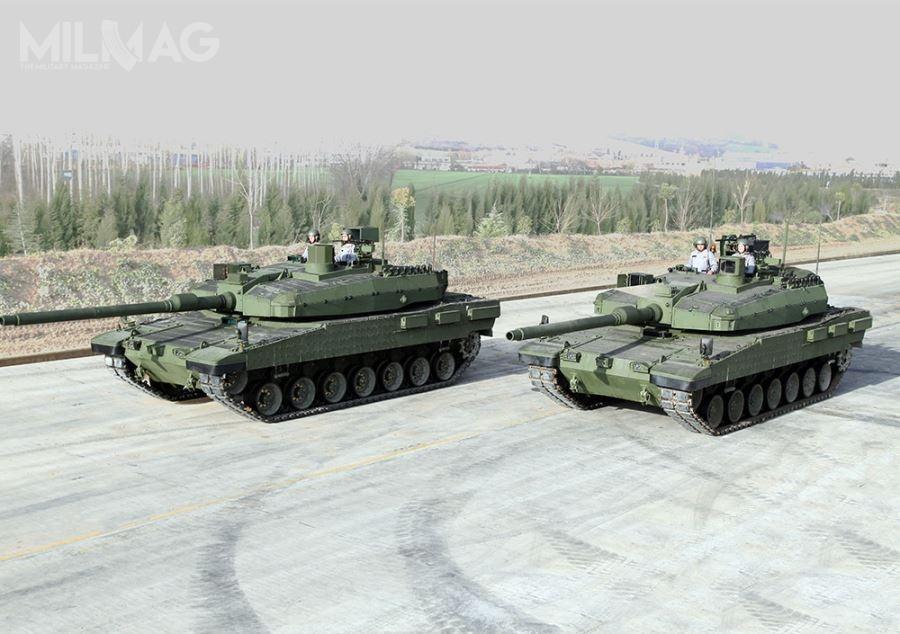 Zainteresowanie tureckim czołgiem Altay wyraziły jak dotąd niektóre państwa bliskowschodnie: Arabia Saudyjska iOman, atakże Pakistan iAzerbejdżan / Zdjęcia: SSM