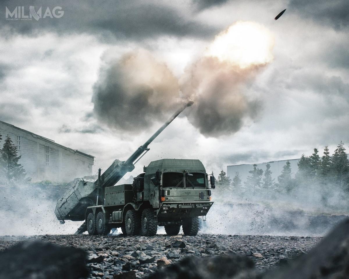 BAE Systems zaprezentowało wLondynie wariant kołowej 155-mm armatohaubicy Archer naniemieckim podwoziu RMMV HX2 8x8, które jest już wykorzystane wjednostkach British Army