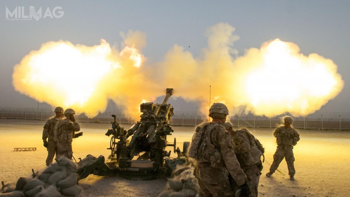 Zasięg rażenia M777A2 zostanie zwiększony do40 km, dzięki zastosowaniu amunicji nowej generacji orazluf nowej generacji /Zdjecie: US Army