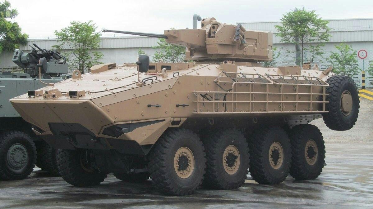Partnerem przemysłowym SAIC jest singapurska spółka ST Kinetics, któraoferowała pojazd Sentinel II (AV-82 Terrex 3) wprogramie Mounted Combat Reconnaissance Capability Land 400 Phase 2nabojowe wozy rozpoznawcze dla Australian Army. /Zdjęcie: ST Kinetics