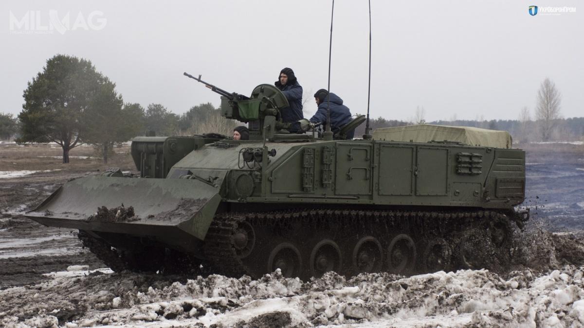 Podwozie dla nowego BREM pochodzi znajnowszego ukraińskiego czołgu T-84 Opłot-M /Zdjęcia: SC UkrOboronProm