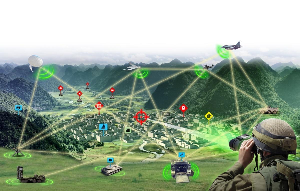 Fire Weaver pozwoli napołączenie wielu czujników, wprzypadku programu ErzUntGlas - bezzałogowców, wcelu stworzenia precyzyjnego, trójwymiarowego, niezależnego odnawigacji GPS zobrazowania pola walki