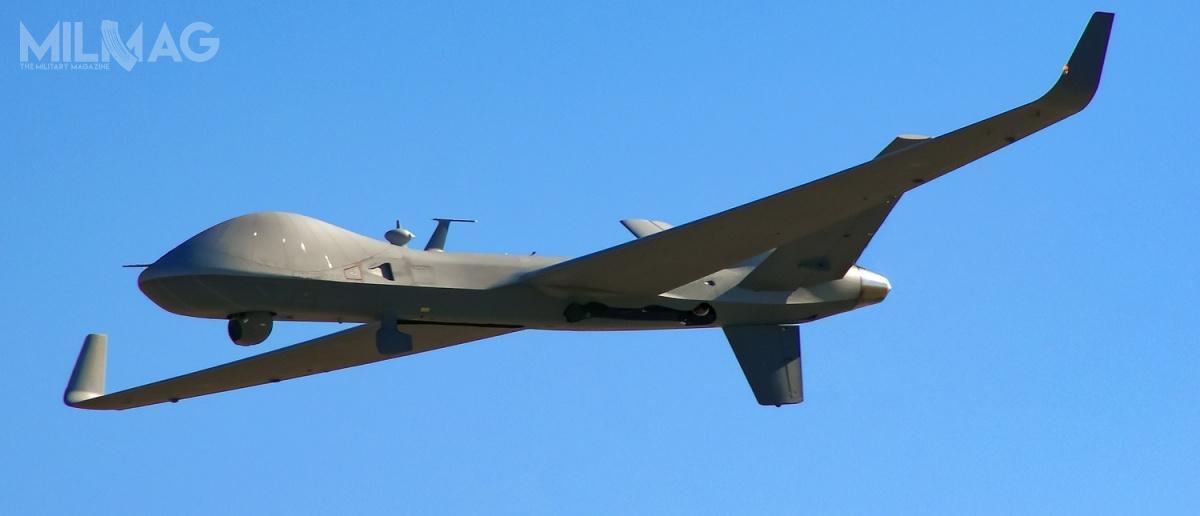 Australia dołączy doWielkiej Brytanii iBelgii, jako trzeci użytkownik MQ-9B SkyGuardian. GA-ASI zaproponował wariant morski, SeaGuardian, Indiom podkoniec listopada 2018 / Zdjęcie: General Atomics Aeronautical Systems