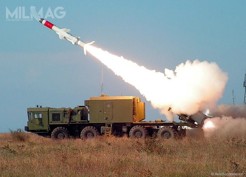 System Bał iBał-E wykorzystują przeciwokrętowe pociski rakietowe Ch-35/Ch-35U iCh-35E ozasięgu, odpowiednio, 130/300 i120 km. /Zdjęcia: RosOboronEksport