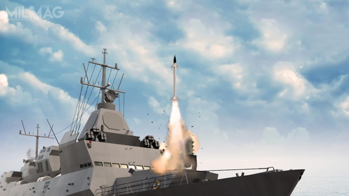 Barak 8został jak dotąd zintegrowany zizraelskimi korwetami typu Sa'ar 5, atakże indyjskimi niszczycielami rakietowymi typu Kolkata / Grafika: IAI