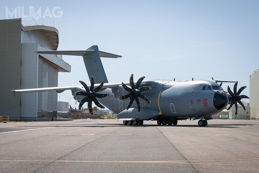 Jak dotąd europejska spółka Airbus Defence and Space dostarczyła 88 ze177 zamówionych samolotów transportowych A400M-180 Atlas dla wojsk lotniczych Francji, Niemiec, Malezji, Hiszpanii, Turcji iWielkiej Brytanii. Zakupem samolotów zainteresowana jest Arabia Saudyjska / Zdjęcie: Ministerstwo Obrony Belgii