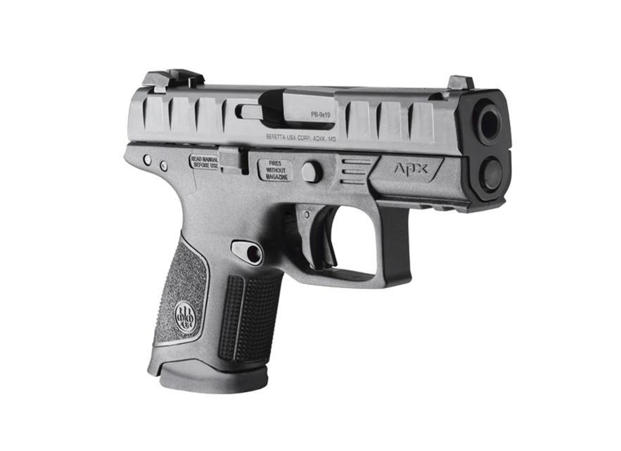 Beretta twierdzi, żepistolety zostały zaprojektowane zmyślą oużytkownikach policyjnych iwojskowych potrzebujących broni łatwej doukrycia.