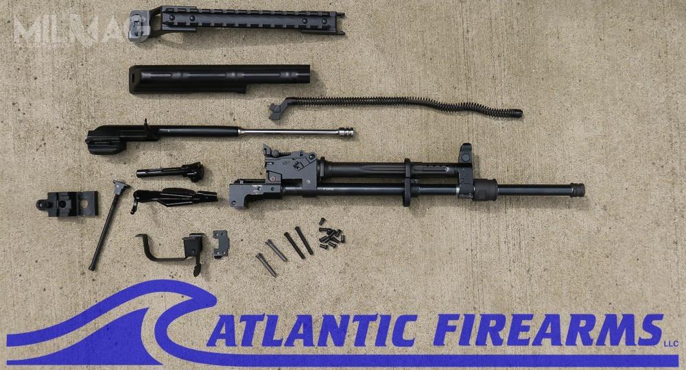 Broń oparto naczęściach pochodzących zWBP Rogów, Fabryki Broni Łucznik Radom, jak również amerykańskich elementach. /Zdjęcia ifilm: Atlantic Firearms