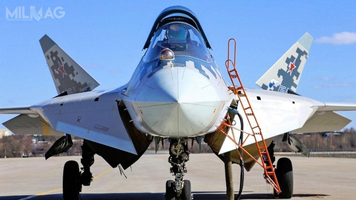 Według ostatnich informacji, próby państwowe Su-57 weszły wostatnią fazę, aprototypy wykonały ponad 3,5 tys. lotów / Zdjęcie: Zjednoczona Korporacja Lotnicza OAK