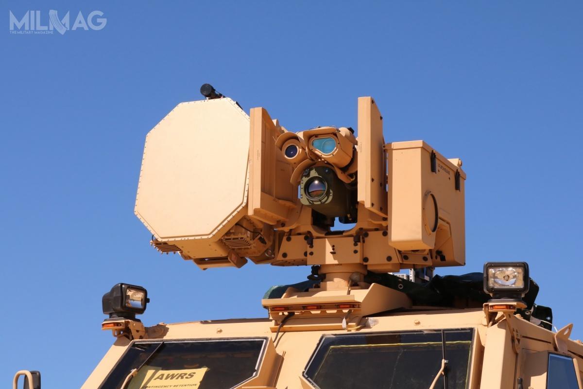 Zdalnie sterowany moduł uzbrojenia dla testowanego systemu BLADE został wyposażony wradar, głowice optoelektroniczne, system kierowania ogniem iśrodki emisji elektromagnetycznej / Zdjęcia: Marian Popescu, CCDC Armaments Center BLADE team