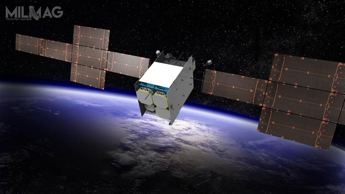 Sieć satelitarna Evolved Strategic Satcom ma być uzupełnieniem iwdalszej kolejność następcą dla zbudowanej przezLockheed Martin sieci AEHF (Advanced Extremely High Frequency). Sieć AEHF złożona jest zsześciu satelitów (ostatni znich wystrzelono wmarcu br.), krążących naśrednich szerokościach geograficznych. Sieć ESS ma rozszerzyć zakres łączności naobszarach między nimi abiegunem północnym / Grafika: Boeing Space