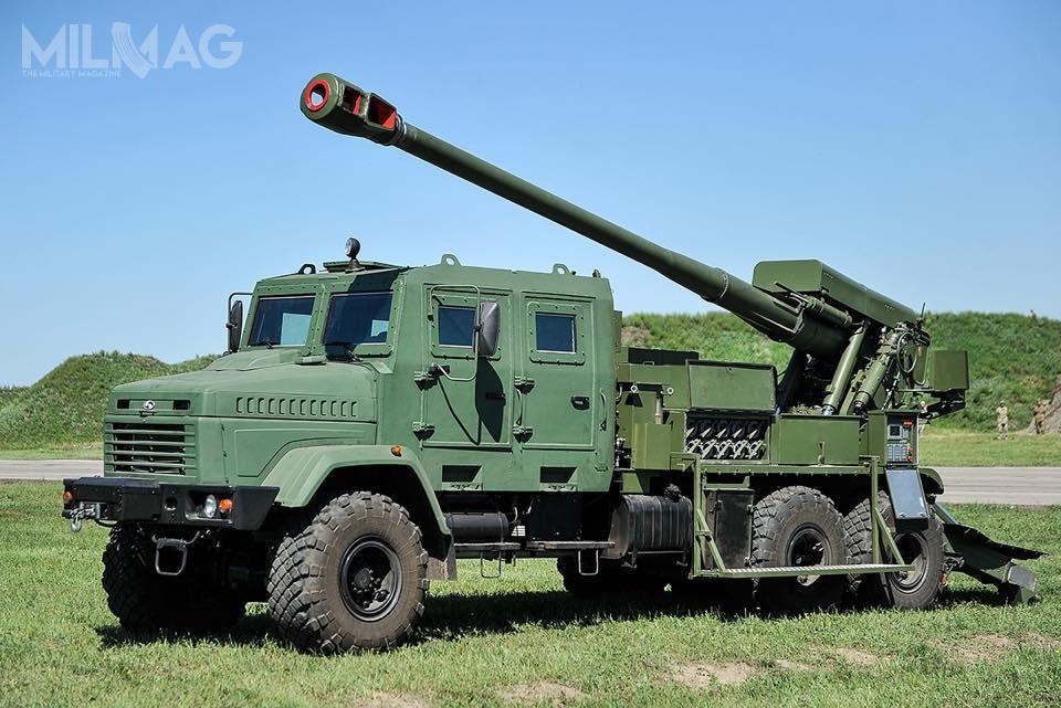 Bogdana 6x6 jest pierwszym zestawem artyleryjskim kalibru 155 mm opracowanym naUkrainie