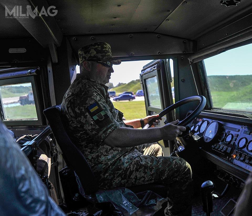 Opancerzona kabina może pomieścić 4żołnierzy / Zdjęcia: Ołeksander Turczynow