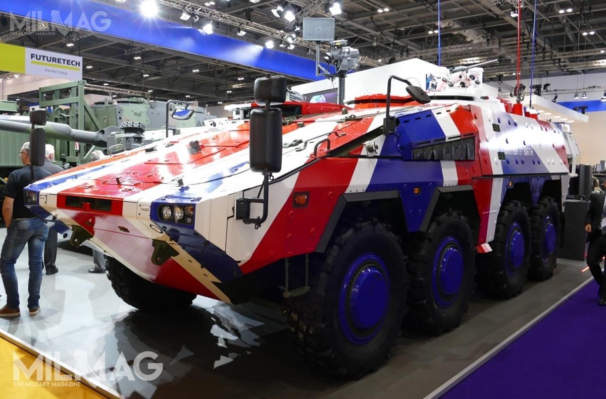 Przed zawieszeniem uczestnictwa wprogramie MRAV/GTK, 12 prototypów zbudowanych przezBAE Systems było testowanych wWielkiej Brytanii do2004. /Zdjęcie: Remigiusz Wilk