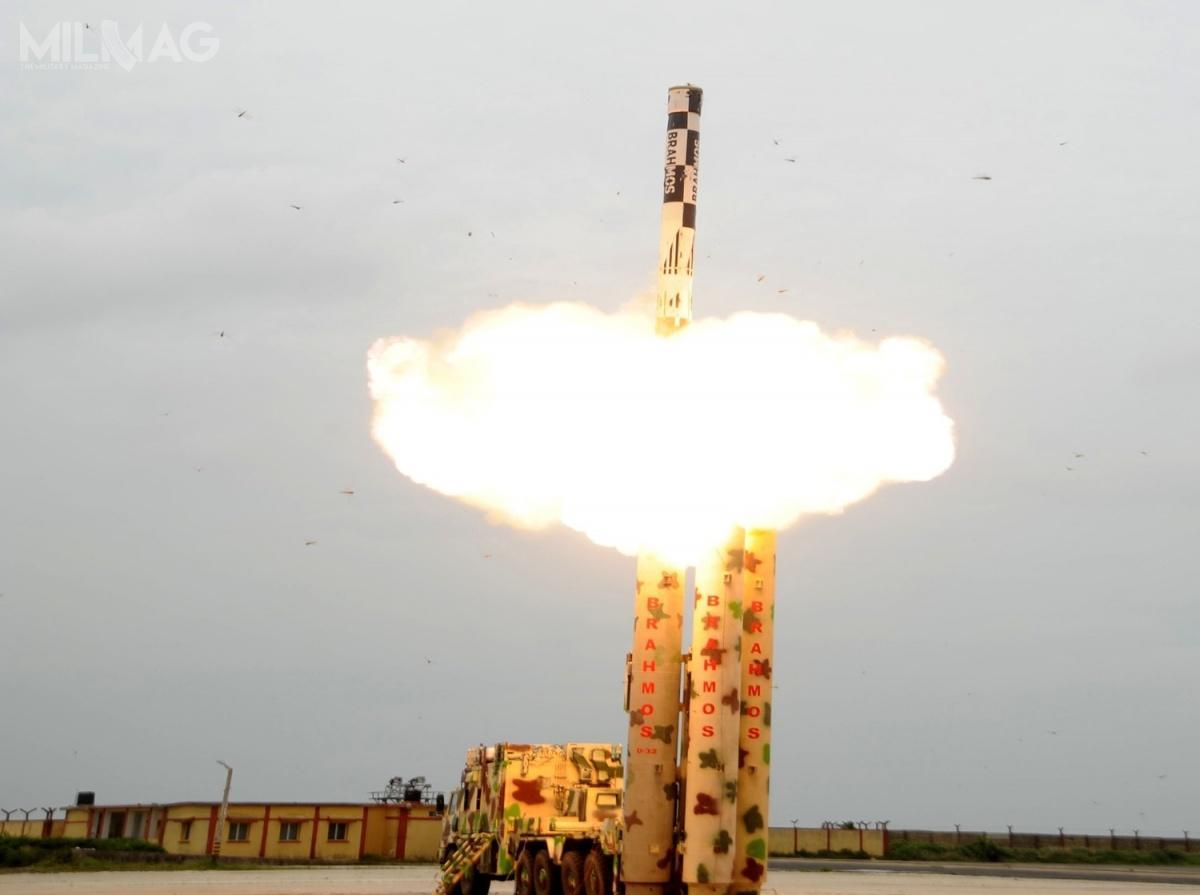 22 maja 2018 testowano pocisk zbudowany zkomponentów wyprodukowanych wIndiach / Zdjęcie: Ministerstwo Obrony Indii