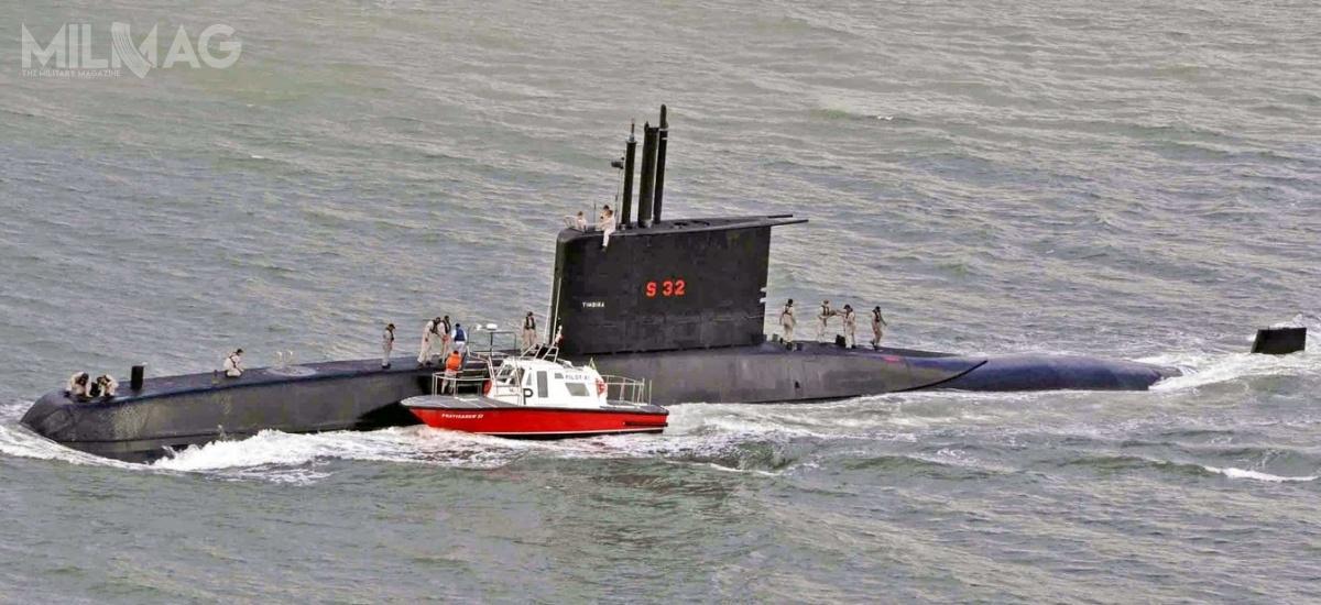 Marynarka Wojenna Brazylii otrzymała łącznie 4okręty podwodne niemieckiego typu IKL-209-1400 wlatach 1989-1999. Dwa najstarsze, Tupi (S30) iTamoio (S31) mają zostać zmodernizowane, aby wydłużyć ich służbę dolat 2030. Oferowane nasprzedaż jednostki Timbira (S32) iTapajó (S33) weszły dosłużby w1996 i1999, aleniema środków naich modernizację. W2005 wprowadzono dosłużby zmodyfikowany Tikuna (S34) typu 209/1400mod, wypierający 1500 t. Budowę dodatkowego, Tapuia (S35), anulowano / Zdjęcie: Marinha doBrasil
