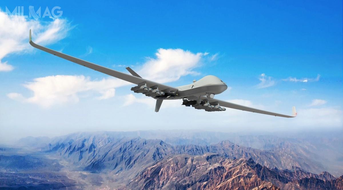 Uderzeniowe bsl Protector mają być również wprzyszłości uzbrojone wpociski rakietowe Brimstone 2CSP. /Zdjęcie: MBDA