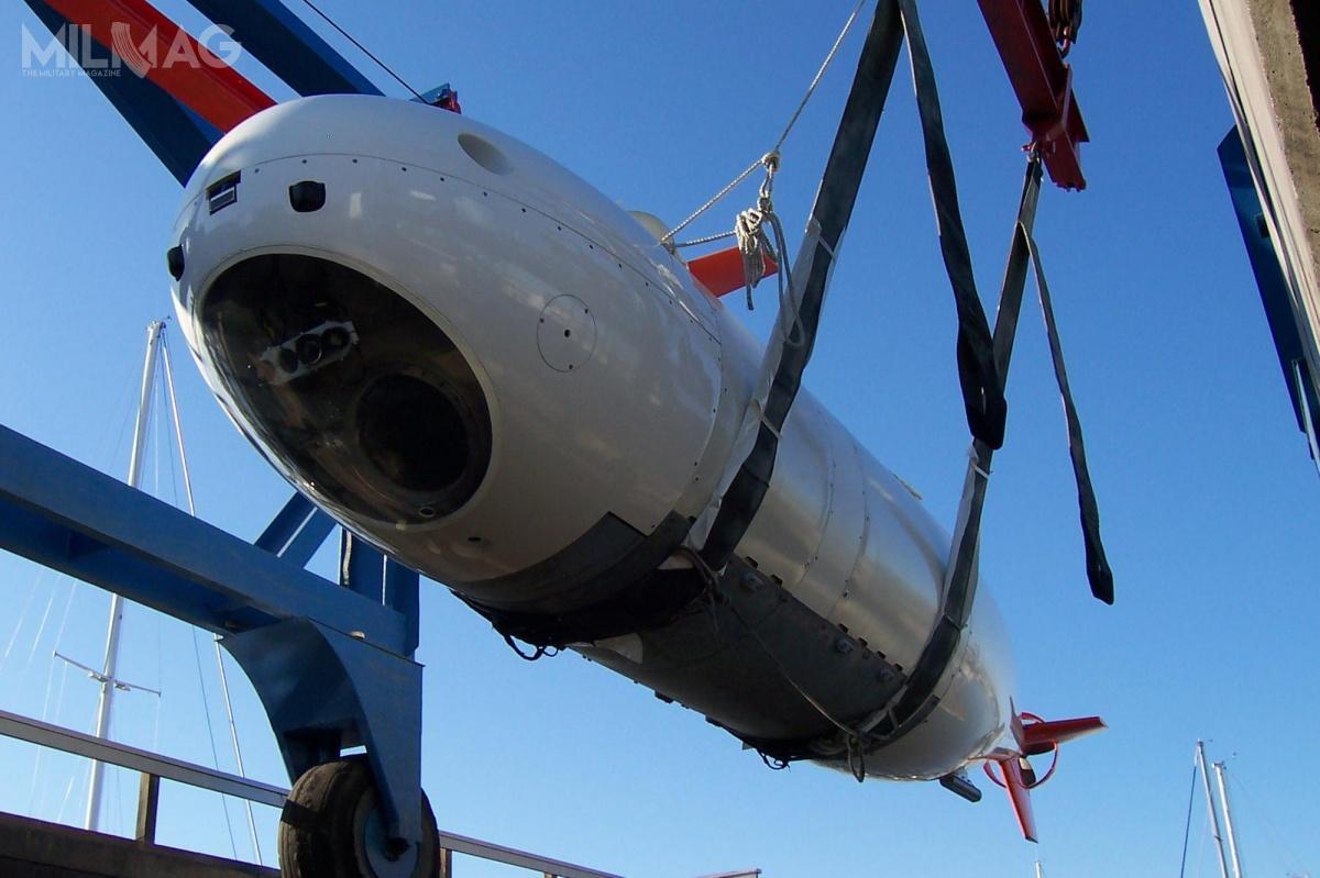 Demonstrator technologii bezzałogowca ma opierać się nakonstrukcji załogowej jednostki półzanurzalnej typu S201