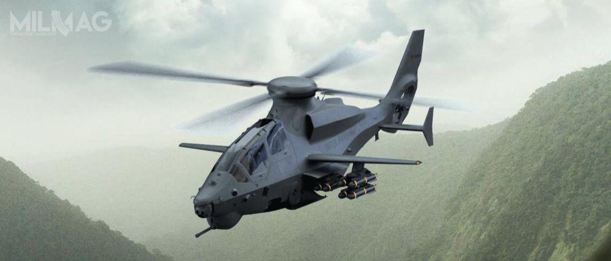 US Army poszukuje dostawcy śmigłowców rozpoznawczo-uderzeniowych, któregomodel zostanie wybrany w2024 iwypełni rolę wycofanych 10 lat wcześniej śmigłowców typu Bell OH-58D Kiowa Warrior / Grafika: Bell Textron
