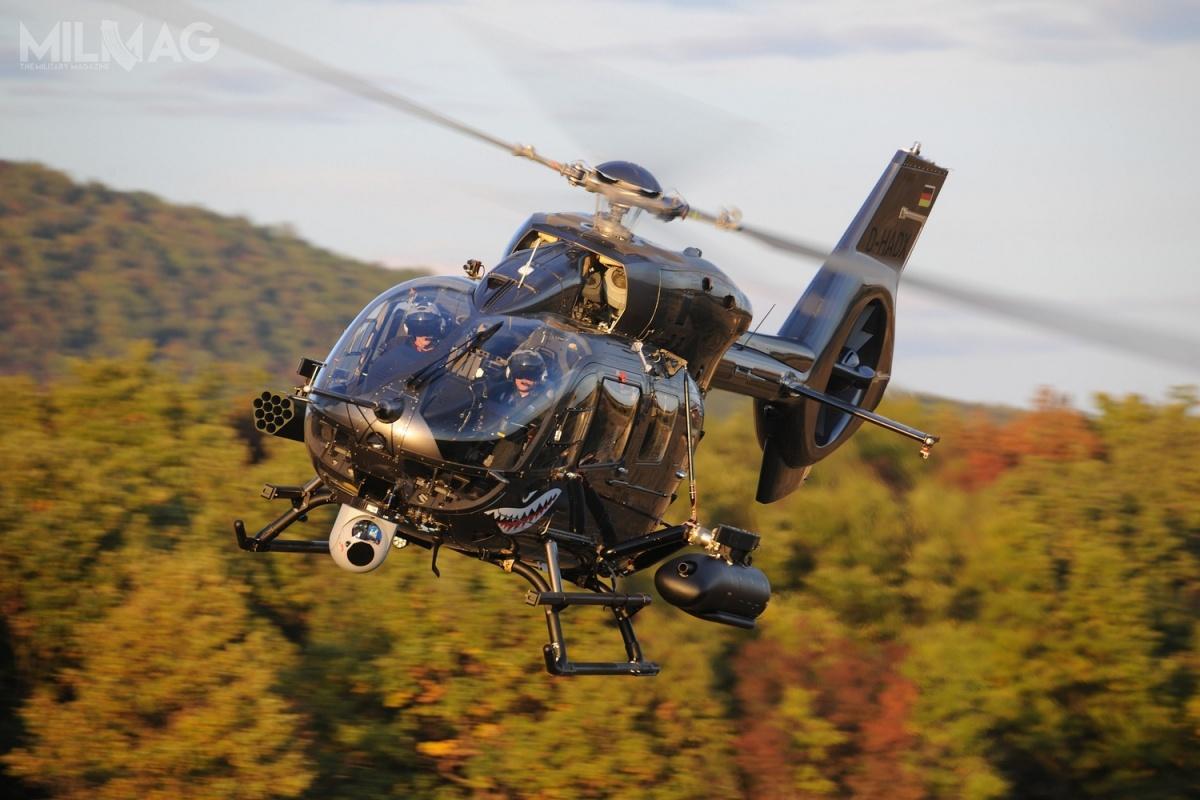Dzięki nowemu zamówieniu, które zostanie złożone uAirbusa, liczebność śmigłowców typu H145 iH145M wBundeswerze wzrośnie do86 / Zdjęcie: Airbus Helicopters