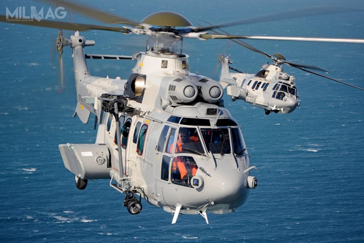 Siedem państw użytkuje blisko 90 śmigłowców H225M Caracal. Wkrótce doich grona dołączą Singapur iIndie, apozakończeniu śledztwa antykorupcyjnego, być może Kuwejt. /Zdjęcie: Airbus Helicopters