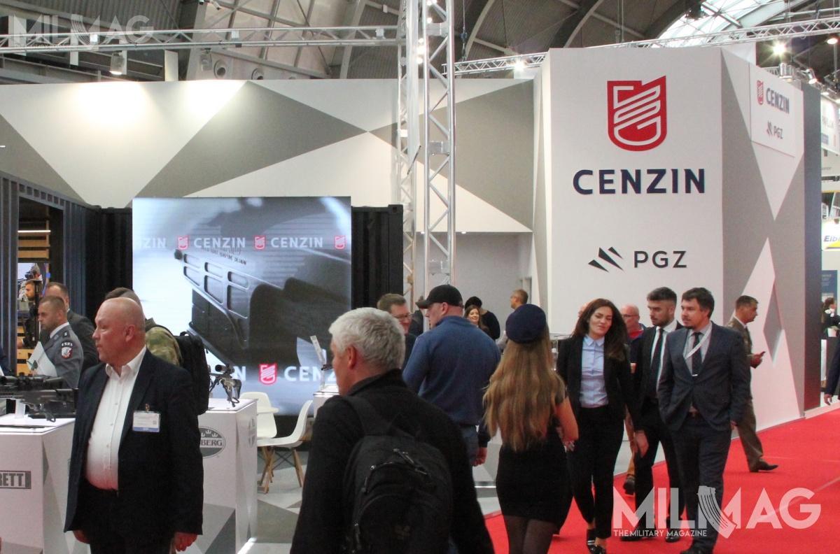 Zmiany wstrukturze mają pozwolić nawzbogacenie oferty CENZIN. Poszerzy się ona onowe marki producentów uzbrojenia, systemów sieciocentrycznych, systemów dowodzenia iłączności /Zdjęcie: Jakub Link-Lenczowski