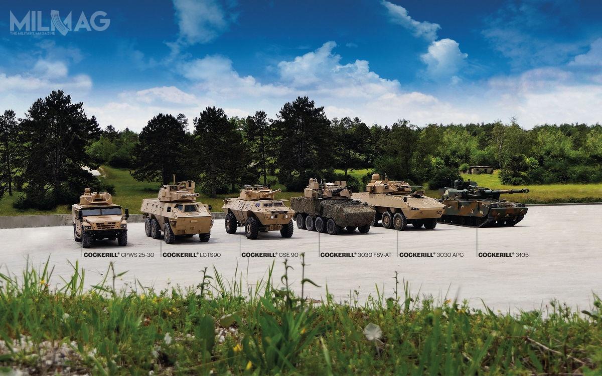 John Cockerill Defence ma wswoim portfolio rodzinę siedmiu systemów wieżowych, którychuzbrojeniem głównym są armaty kalibrów od20 do120 mm, alestronę rumuńską najbardziej interesuje produkcja wież z30-mm armatami. / Zdjęcie: John Cockerill Defence
