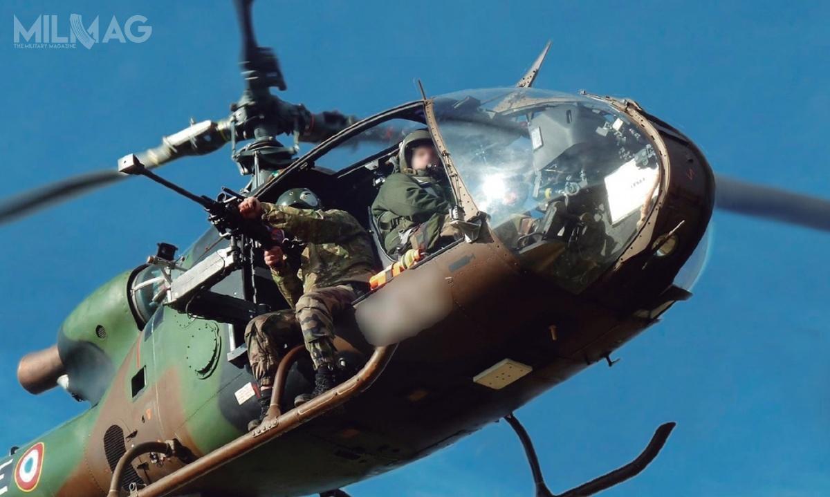 Francuska spółka COSE dostarczy stabilizowane lotnicze podstawy snajperskie Strike do12 śmigłowców SA.342 Gazelle używanych przezoddziały specjalne