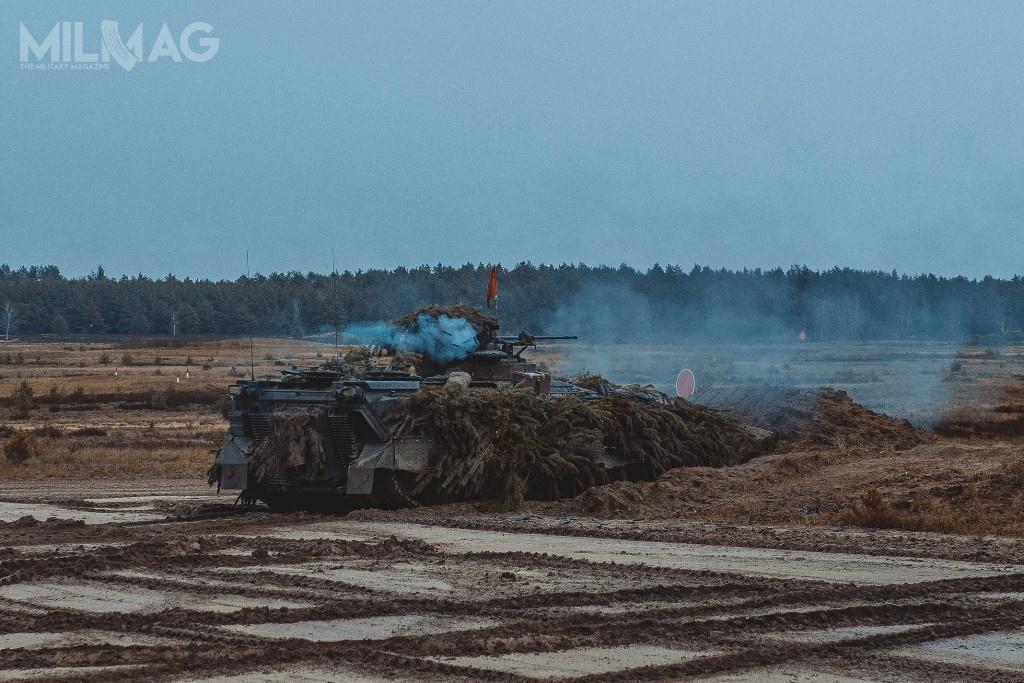 Zgodnie zplanami niemieckie bwp Marder 1, należące do411. batalionu zmechanizowanego zostaną zastąpione najnowszymi bwp SPz Puma. /Zdjęcia:  10. Brygada Kawalerii Pancernej