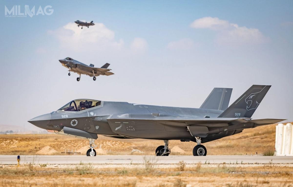 Cały czas rozważany jest zakup kolejnych 25 F-35I, aco zatym idzie sformowanie trzeciej eskadry liniowej / Zdjęcia: Korpus Powietrzny Izraela