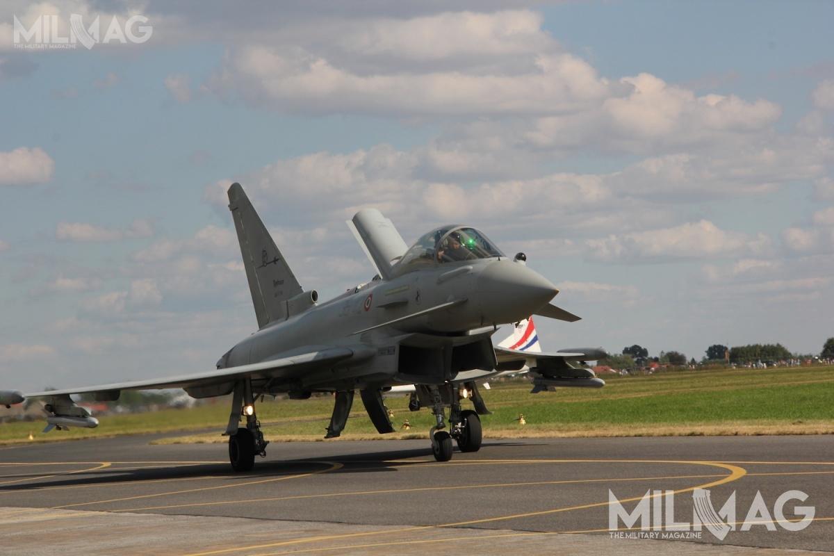 Eurofighter Typhoon ma być zastapiony przeznową niemiecko-francuską maszynę.