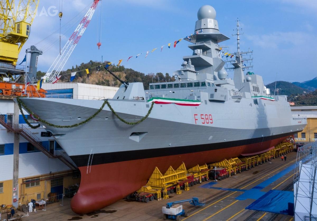 Od czasu dojścia dowładzy w2014 Abd al-Fattaha as-Sisiego, byłego marszałka iministra obrony, egipskie wydatki naobronność izakupy wyposażenia wojskowego zagranicą znacznie wzrosły. Ewentualny zakup dwóch włoskich fregat rakietowych typu Carlo Bergamini będzie kolejnym krokiem nadrodze dozwiększenia potencjału operacyjnego marynarki wojennej Egiptu / Zdjęcie: Fincantieri