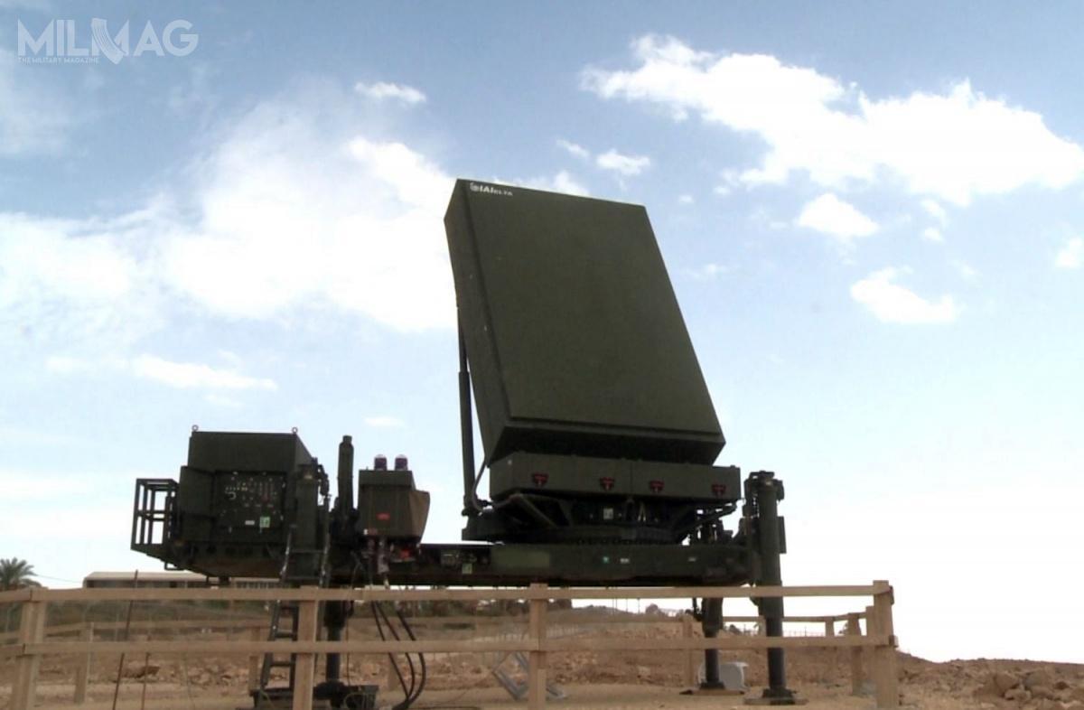 Stacja radiolokacyjna IAI Elta EL/M-2084 MMR dostosowana jest dodziałania zizraelskimi systemami obrony powietrznej SPYDER-MR, Iron Dome iDavid's Sling. / Zdjęcie: US Missile Defense Agency (MDA)