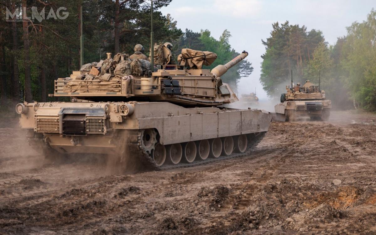 W ćwiczeniu Emergency Deployment Readiness bierze udział 30 czołgów M1A2 Abrams, 20 bojowych wozów piechoty M2/M3 Bradley i10 transporterów piechoty M113