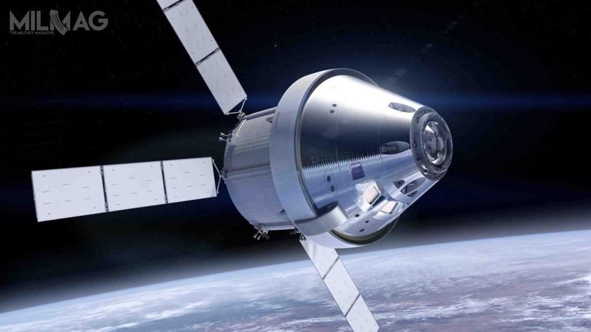 Europejski moduł serwisowy ESM stanowi kluczowy element kapsuły Orion, którabędzie załogowym statkiem kosmicznym następnej generacji iwyniesie człowieka poza niską orbitę okołoziemską pierwszy raz odlat 1970.