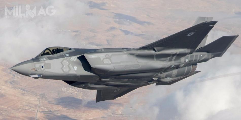 Izrael jest jedynym użytkownikiem samolotów wielozadaniowych F-35 wregionie Bliskiego Wschodu. Dotejpory odebrał 9z50 łącznie zamówionych egzemplarzy. Pierwotnie planowano zakup 33 samolotów, lecz27 listopada 2016 zdecydowano opozyskaniu dodatkowych 17 / Zdjęcie: Siły Powietrzne Izraela (Chel ha-Awir)