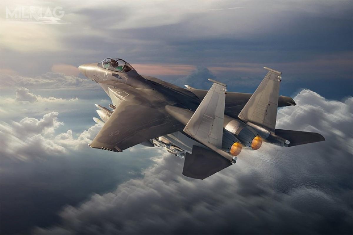 Boeing otrzymał zgodę władz amerykańskich nazaoferowanie Indiom kupna samolotów wielozadaniowych F-15EX Advanced Eagle. / Grafika: Boeing