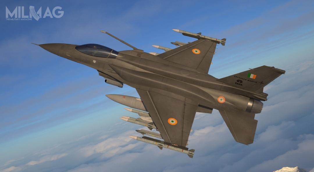 F-21 mają przenosić 8pocisków średniego zasięgu AIM-120 AMRAAM, 2pociski krótkiego zasięgu AIM-9X Sidewinder, 2dodatkowe zbiorniki paliwa, zasobnik nawigacyjno-celowniczy Sniper XR ioptoelektroniczny system śledzenia AAS-42 Tiger Eyes / Grafika: Lockheed Martin