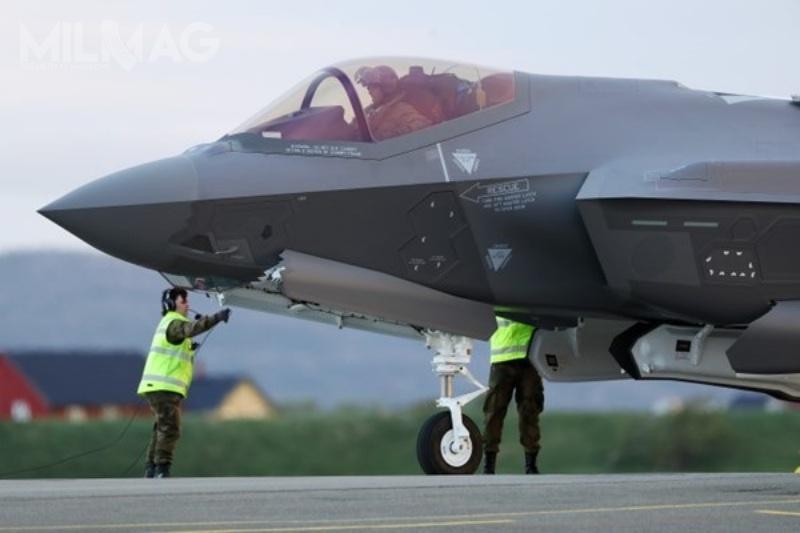Norweskie królewskie wojska lotnicze otrzymają łącznie 52 myśliwce wielozadaniowe 5. generacji F-35A Lightning II