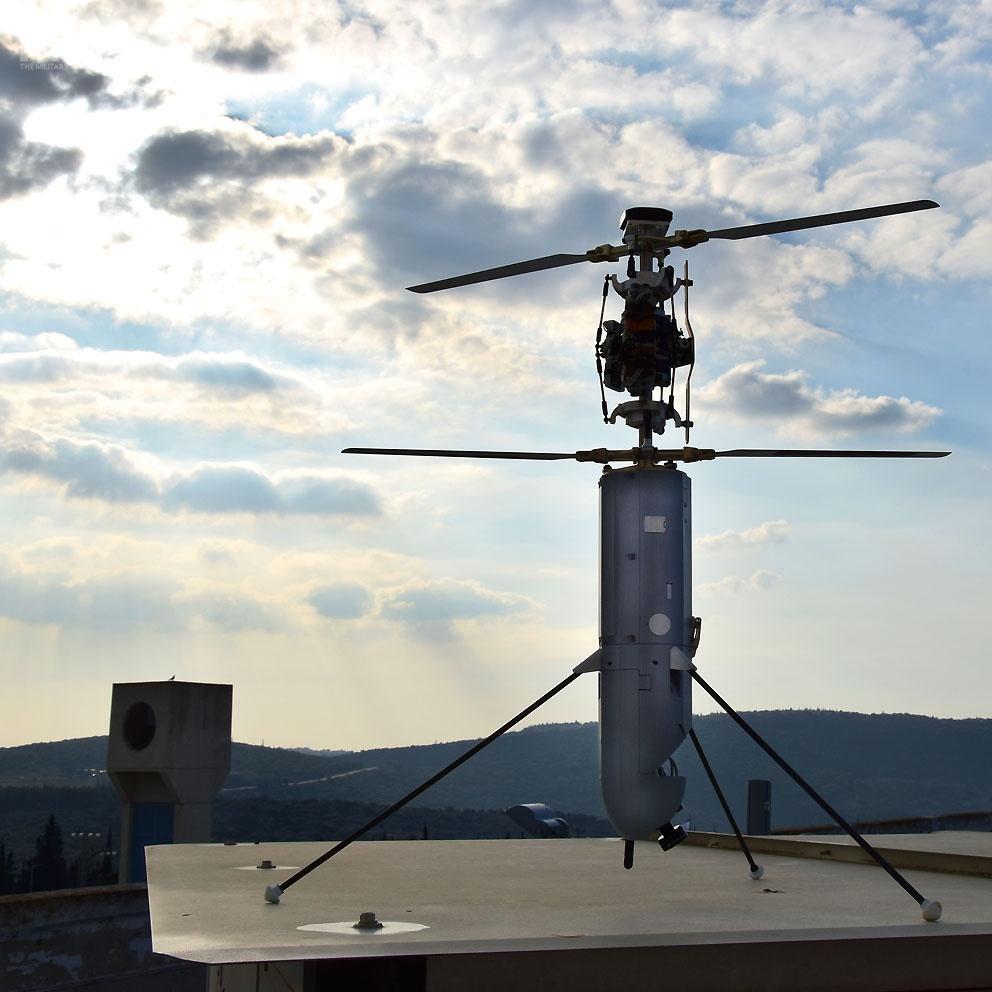 Firefly tominiaturowa amunicja krążąca kierowana elektro-optycznie. /Zdjęcie: Rafael