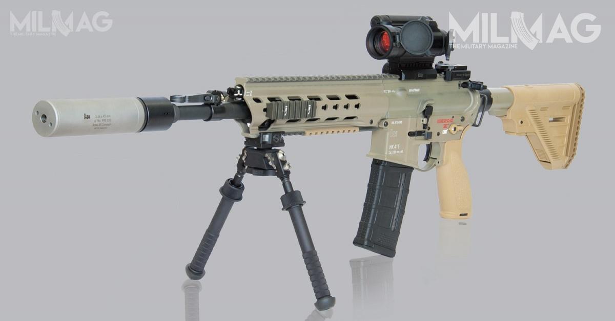 Następcą karabinków H&K G36KA1/A2/A4 wjednostkach specjalnych KSK iKSM będzie inny model Heckler & Koch. HK416A7 nadano desygnatę G95 / Zdjęcie: Heckler & Koch