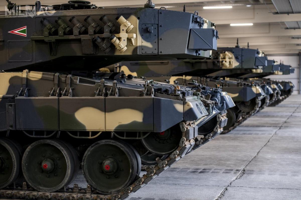Użytkownikiem czołgów jest 11. Batalion Pancerny 25. Brygady Strzelców Klapka György wTacie