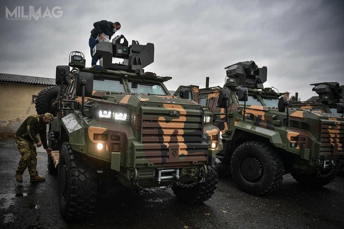 Węgry, wkooperacji zNiemcami, opracują nowy opancerzony pojazd minoodporny Gidrán 4x4, bazujący natureckim Ejder Yalçın